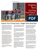 Newsletter Cycling Home Race