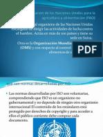 Organización de las Naciones Unidas para la agricultura