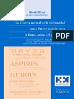 monoLa historia natural de la enfermedad como fuente esencial para la formulación del pronóstico. grafia4