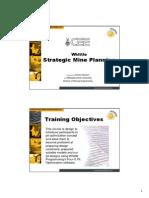 Strategic Mine Planning 1
