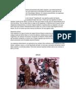 A Cultura Zapoteca Comida, Vestimenta, Lugares Sagrados, Etc.