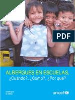 UNICEF Escuela Albergue