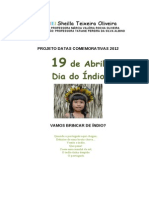 MATERIAL DE APOI PARA O DIA DO ÍNDIO
