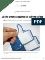 Cómo armar una página para su Pyme en Facebook