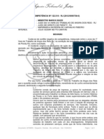 CONFLITO DE COMPETÊNCIA Nº 122.516