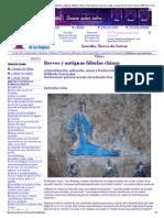 Breves y antiguas fábulas chinas _ Introducción, selección, notas y traducción del chino clásico_ Wilfredo Carrizales