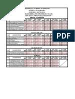 Horario de Examenes 1c2014