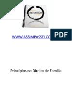 3- Princípios no Direito de Família