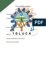 Instituto Tecnológico de TolucA QIMIKA