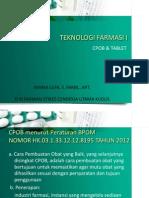 Teknologi Farmasi p1 tablet