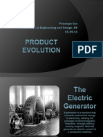 product evolution 1