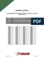 Gabarito Oficial SUDECAP 20140318 083924