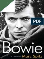 Bowie by Mark Spitz - Excerpt