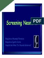 Screening Neonatal