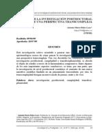 Dialnet-PensarLaInvestigacionPostdoctoralDesdeUnaPerspectva Transcompleja