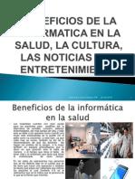 Beneficios de La Informatica en La Salud Trabajo #18