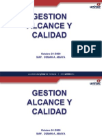 Osman A. Amaya Lopez  Proyectos Calidad