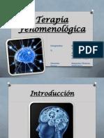 Terapia Fenomenológica