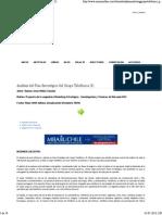 Analisis Del Plan Estrategico Del Grupo Telefonica (I)