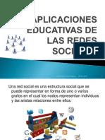 Aplicaciones Educativas de Las Redes Sociales Tecnologia Trabajo #21