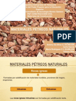 Materiales pétreos naturales