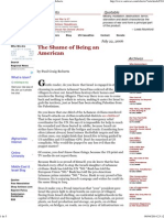 The Shame of Being an American - by Paul Craig Roberts.pdf