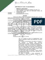 CONFLITO DE COMPETÊNCIA Nº 122.502
