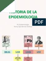 Historia Epidemiologia