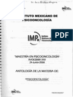 Maestrioa en Psiconcologia