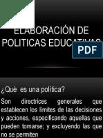 REALIZACIÓN DE POLÍTICAS