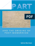 POP ART and the Origins of Post.modernism. Silvia Harrison. PDF