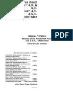 08 Kubota v3300 e2b Motor Manual de Taller Es