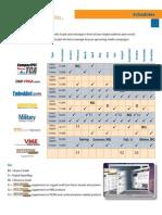 2010 Schedules - Print, Online
