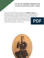 La Educacion en El Primer Periodo de La Organizacion Nacional (1852 - 1862)