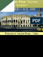 Chapter 5 Roman Empire Part I