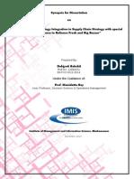 IT integration in SCM