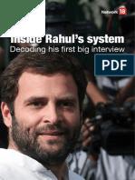 Inside Rahul Gandhi