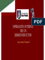 Cap 1 - Operacion Interna de Un Diodo