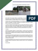 Accidente de bus en la vía Santo Domingo