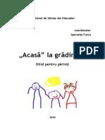 Relatia Gradinita Familie