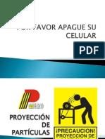 PROYECCÓN DE PARTÍCULAS PM