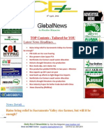 8th April,2014 Daily Global Rice E-Newsletter by Riceplus Magazine