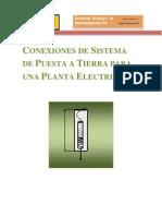 7 Conexion de Puesta a Tierra de Plantas eléctricas.