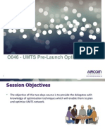 O046 - UMTS Pre-Launch Optimisation_26 & 27 March_Ncell