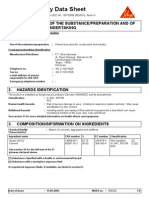 SikaGrout 215 New - MSDS