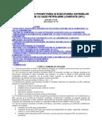Normativ Pentru Proiectarea Şi Executarea Sistemelor de Alimentare Cu Gaze