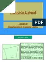 Particion Lateral