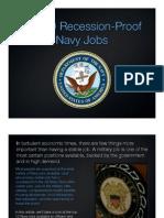 Top 10 Recession Proof Navy Jobs