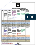 Wanneroo Rugby Club NZ Tour 2015 Draft Itinerary Overview V2