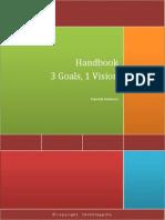 Handbook-3 Goals, 1 Vision
